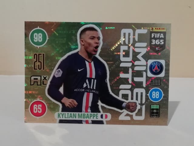 MBAPPE ADRENALYN XL 2020 LIMITED EDITION FIFA 365