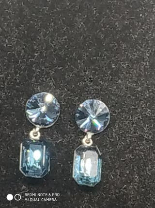 pendientes cristal Swarovski