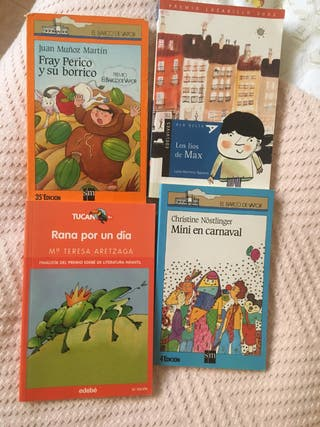Lote 4 libros infantiles- Regalo 1