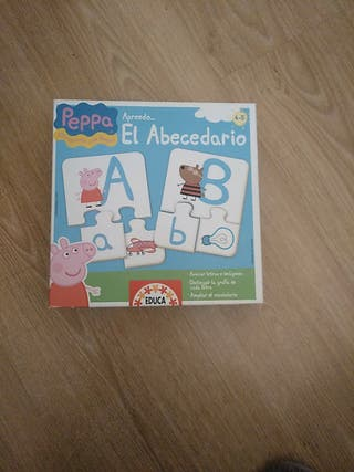 Puzzle letras Peppa Pig
