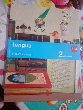 libro de lengua segundo de primaria SM