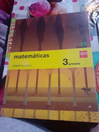 libros de matemáticas 3 primaria SM