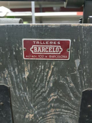 Bascúla antigua Barceló