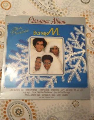 vinilo boney M en perfecto estado, navidad.