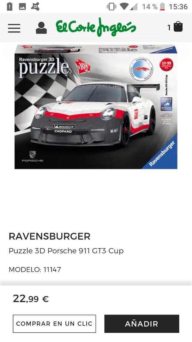 Porsche 3D NUEVO sin estrenar