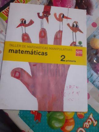 libro de matemáticas 2 primaria SM