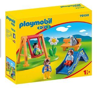 Playmobil 70130 .123 parque infantil