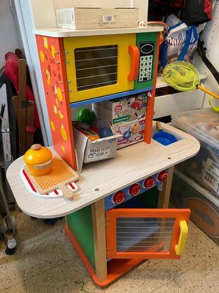 Cocina de juguete de madera Andreu toys