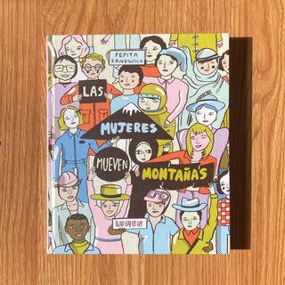 """Libro / cómic """"Las mujeres mueven montañas"""""""