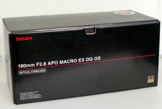 Sigma 180mm F2.8 EX DG APO MACRO EOS