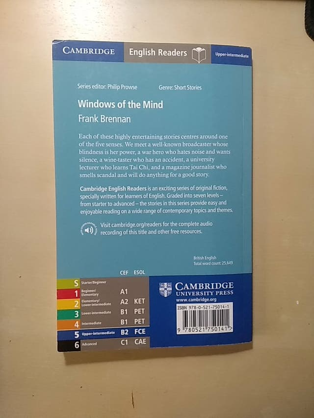 "Libro en inglés ""Windows of the mind"""