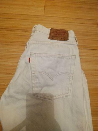 Levis blanco vintage 30-34