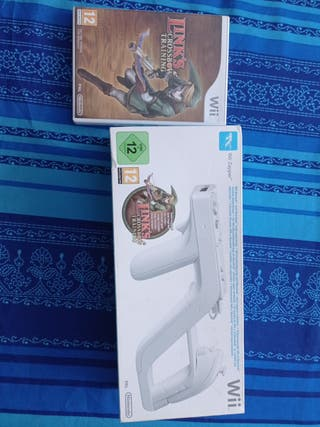Wii zapper y Link Cross