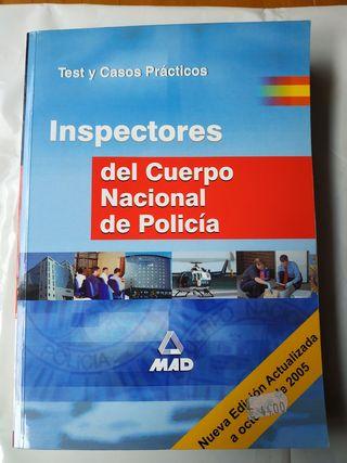 Test-casos prácticos Inspectores Policía Nacional