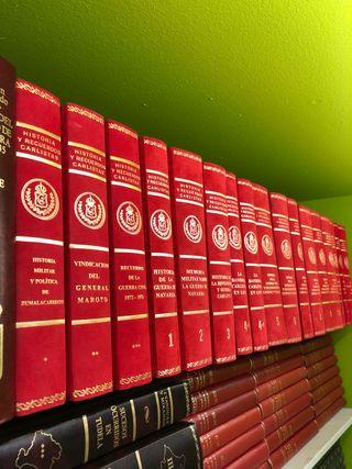Colección Historia y Recuerdos Carlistas 17 Vol.