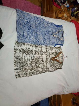 Par de vestidos. Los dos juntos a 15 euros