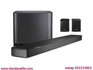 Bose - Barra de sonido 500, Bluetooth y Wifi, negr