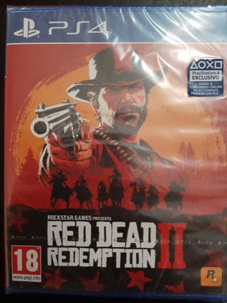 video juego Red Dead II