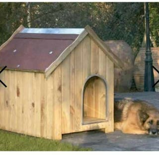 caseta para perro talla grande