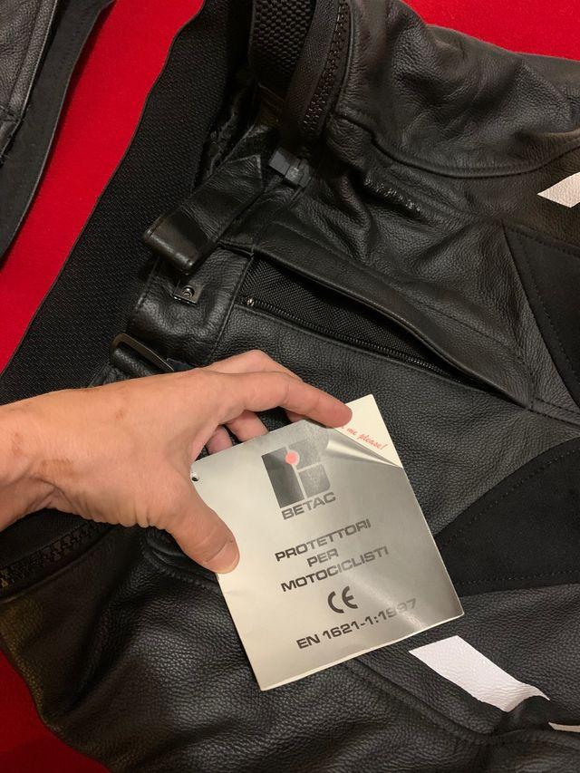Combinaison 2 pièces moto neuve avec étiquettes IX