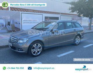 Mercedes-Benz C 200 CDI Avant. *Historial Mant.*