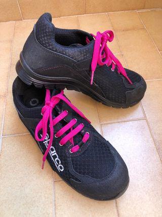 Zapatillas de seguridad homologadas