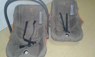 2 maxicosi portabebe PRENATAL +soporte.ALTA GAMA!