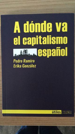 Libro: A dónde va el capitalismo español