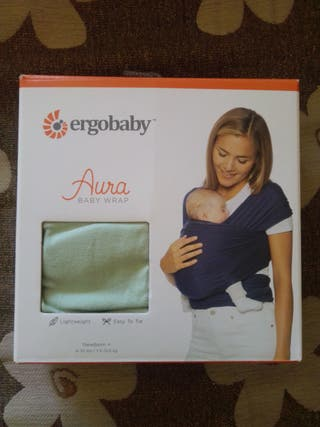 Fular Porteo ERGOBABY Aura Baby Wrap
