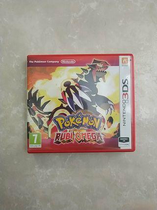 Pokémon Rubí Omega - Nintendo 3DS 2DS XL