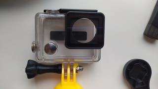 Gopro Hero3 + Feiyu G4 + Domo + Carcasas