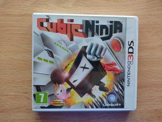 Cubic Ninja Nintendo 3DS