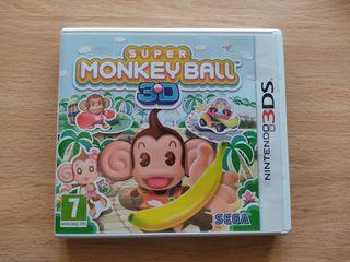 Super Monkey Ball 3D Nintendo 3DS