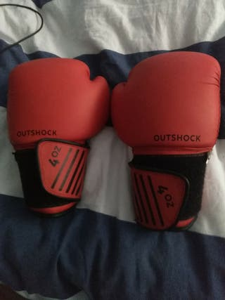 guantes de boxeo de 4 hondas