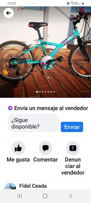 bici como nueva