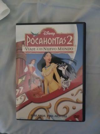 Pocahontas 2 Viaje a un Nuevo Mundo DVD