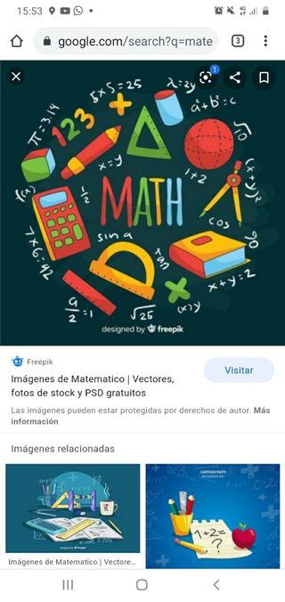 Se regalan libros de Matemáticas