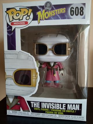 Funko Pop The Invisible Man.
