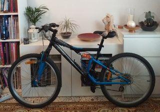 Bicicleta B'Twin Full Suspensión (como Nueva)