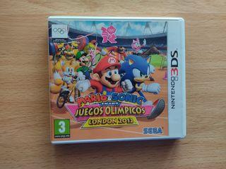 Mario y Sonic en los Juegos Olímpicos Nintendo 3DS
