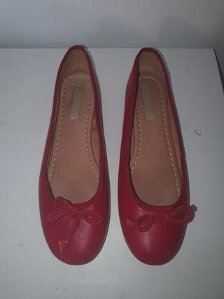 Manoletinas rojas