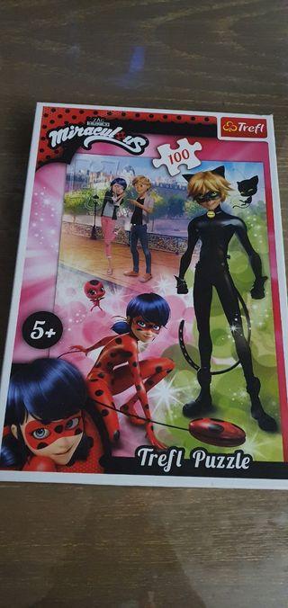 Pack Ladybug: mochila y puzzle.