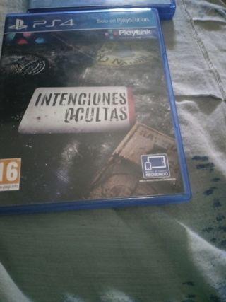 intenciones ocultas play 4