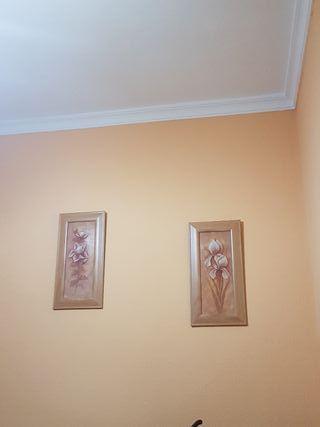 se realizan trabajos de pintura de interior