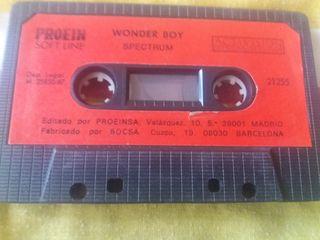 Wonder Boy - Spectrum