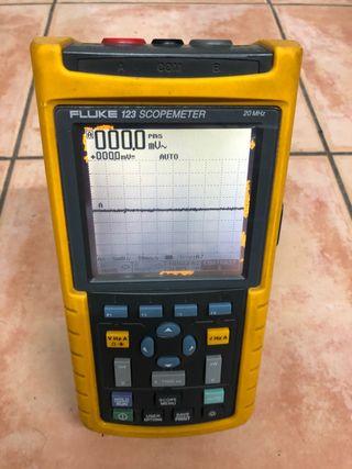 Osciloscopio FLUKE 123 scopemeter