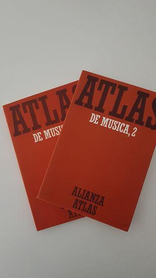 Atlas música vol.1 y 2