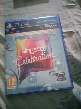 SingStar celebration play 4
