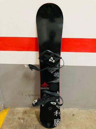 Tabla Snowboard Atomic + Fijación + Botas