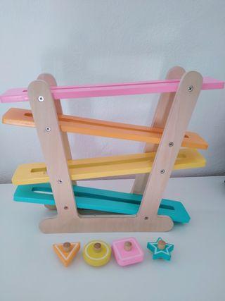 Juguetes de madera Montessori